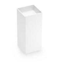 White European Style Pedestal Sink