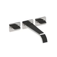 Dual-handle Wall-mount Basin Mixer Italian Design