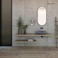 Concrete Color Retro Bathroom Wash Basin