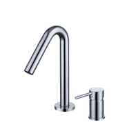 2 Hole Round Basin Mixer