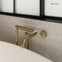 Unique Shape Wall-mount bathtub mixer