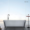 Unique Square Freestanding Bathtub with Iron Shelf