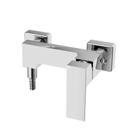 Single Handle Square Shower Faucet