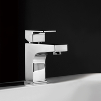 Square Single Handle Bathroom Faucet