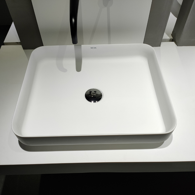 20 Inch Matte Solid Surface Abovecounter Basin